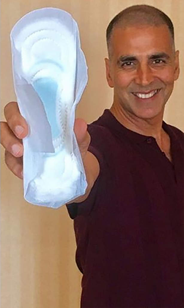 PadMan challenge spreads over social media like wildfire