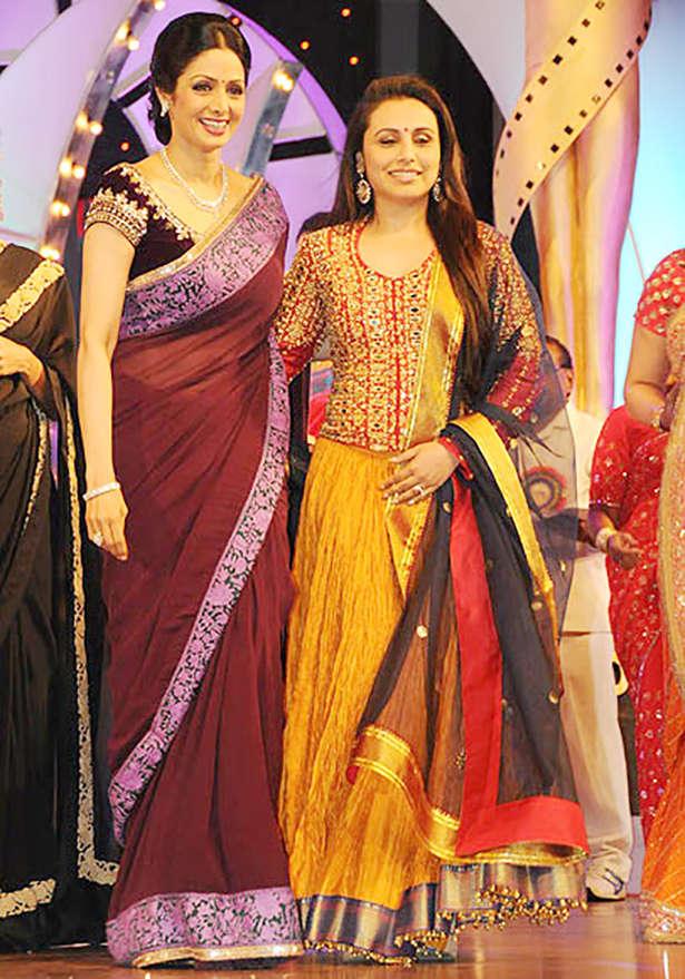 Sridevi, Rani Mukerji