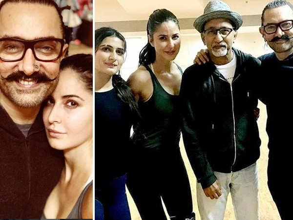 Katrina Kaif, Aamir Khan and Fatima Sana Shaikh's joint dance rehearsal video is enthralling