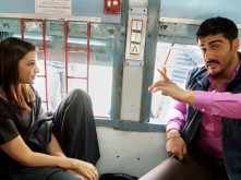Arjun Kapoor and Parineeti Chopra shot a scene on a train in Delhi for Sandeep Aur Pinky Faraar