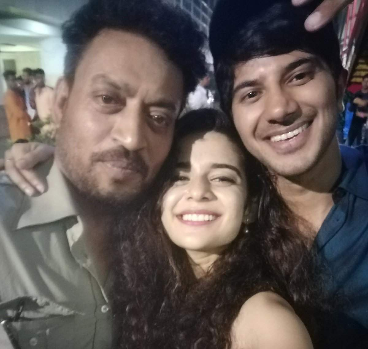 Irrfan Khan, Dulquer Salmaan and Mithila Palkar wrap up shoot for Karwaan