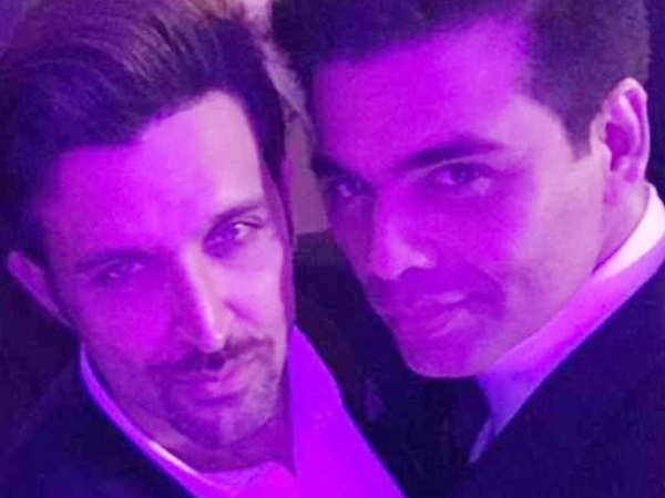 Karan Johar and Hrithik Roshan to collaborate for their next?