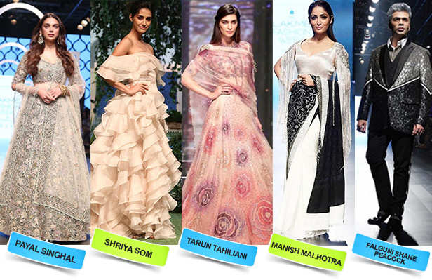 Pastels, Prints and Panache! We bring to you the best looks so far from the Lakme Fashion Week 2018