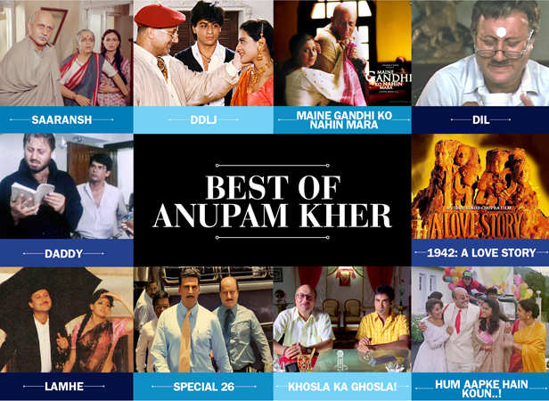 Anupam Kher best performances
