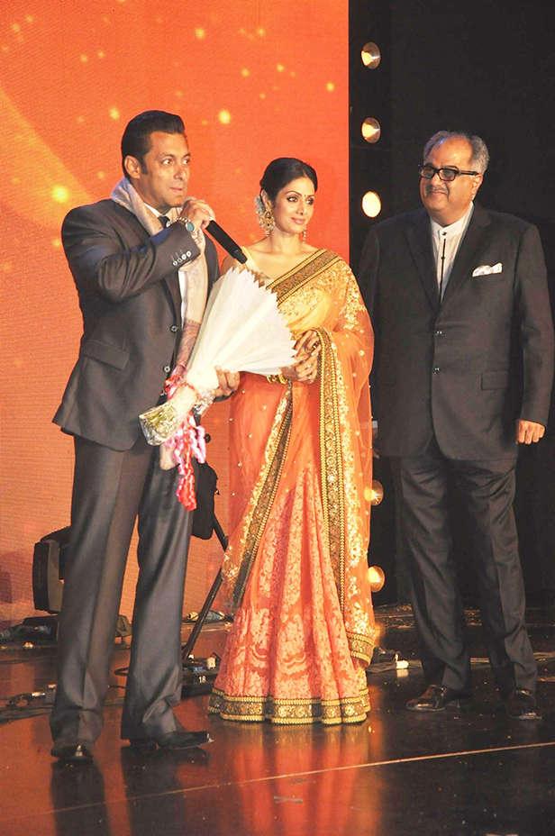 Salman Khan, Sridevi