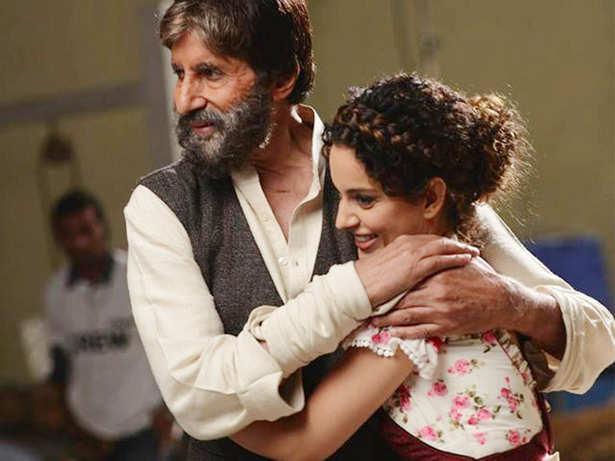 Amitabh Bachchan, Kangana Ranaut