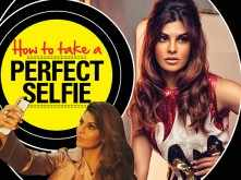 Jacqueline Fernandez teaches us how to take the perfect selfie
