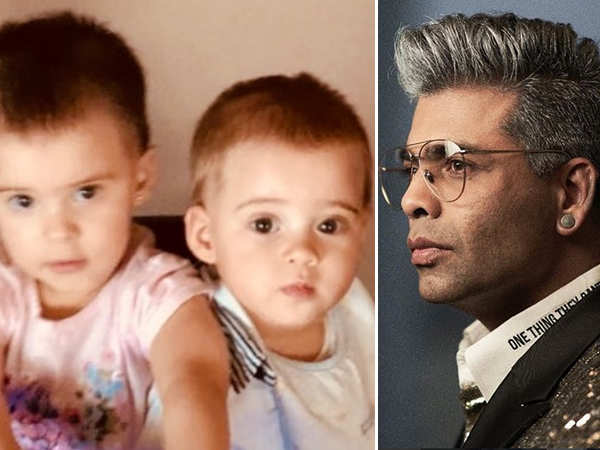 Karan Johar's special birthday wish for his twins Yash and Roohi Johar is truly endearing