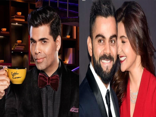 Karan Johar will host Virat Kohli and Anushka Sharma on the next season of Koffee with Karan