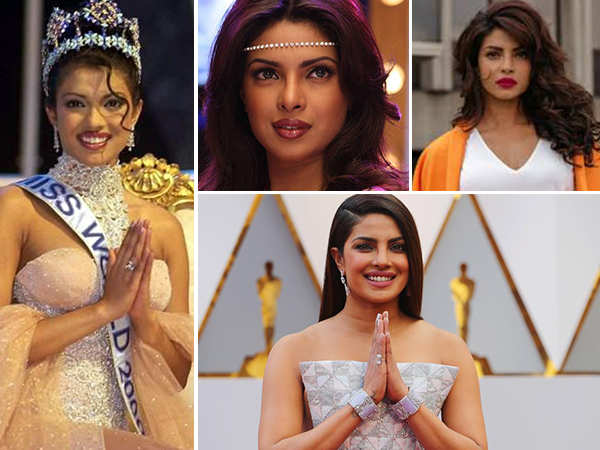 Highlights from Priyanka Chopra's journey of turning into a global star
