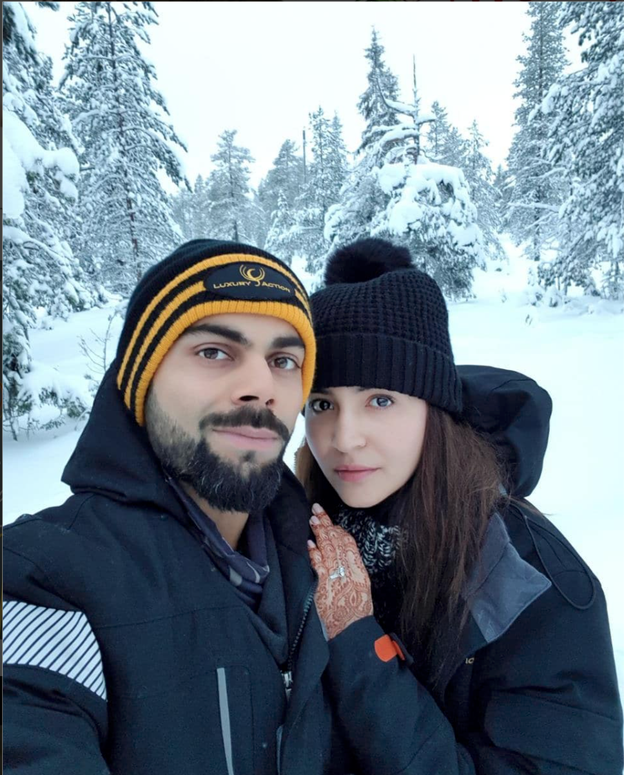 Here's how Anushka Sharma reacted after Virat Kohli's century