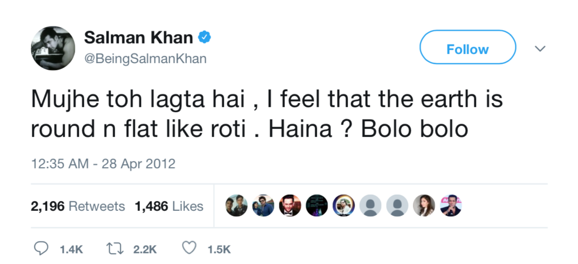 10 times Salman Khan broke the internet with his tweets