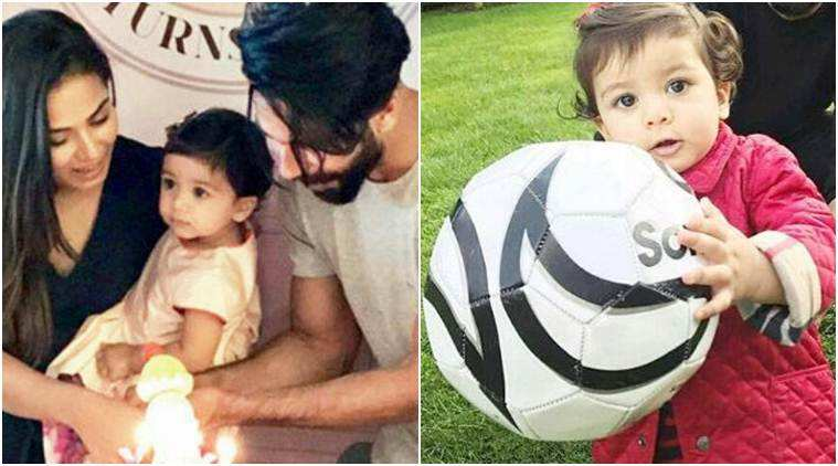 This video of Misha Kapoor kicking around football will surely perk you up