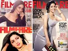 In memory: Sridevi's best Filmfare covers