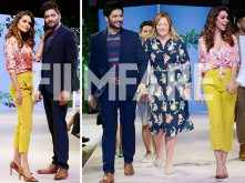 Photos: Esha Gupta and Ali Fazal take the ramp by storm at a fashion night
