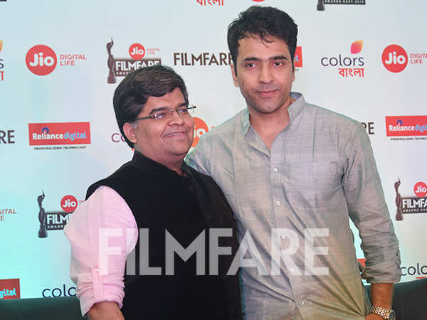 Pictures: Abir Chatterjee and Jitesh Pillaai at the Jio Filmfare Awards (East) press conference