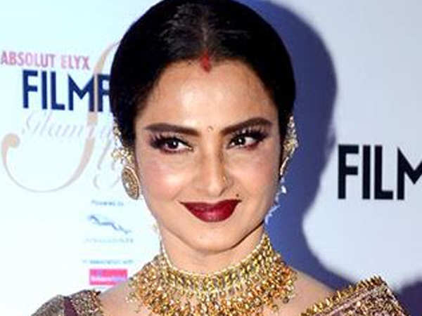 This is what disappointed Rekha at a recent event