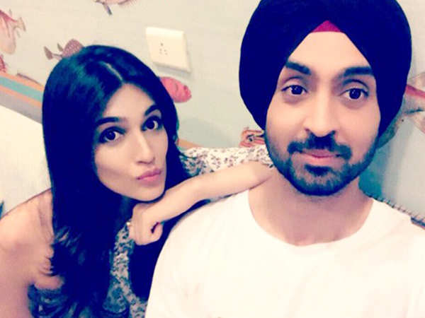 Kriti Sanon begins shooting for Arjun Patiala opposite Diljit Dosanjh