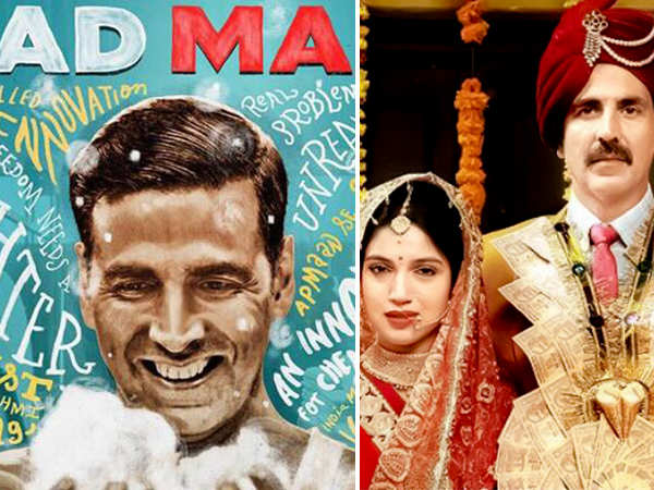 Akshay Kumar's PadMan goes beyond Toilet: Ek Prem Katha in global collections
