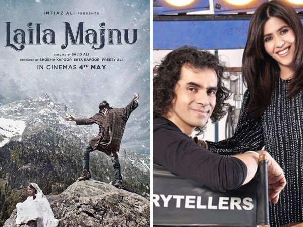 Imtiaz Ali and Ekta Kapoor to co-produce Laila Majnu