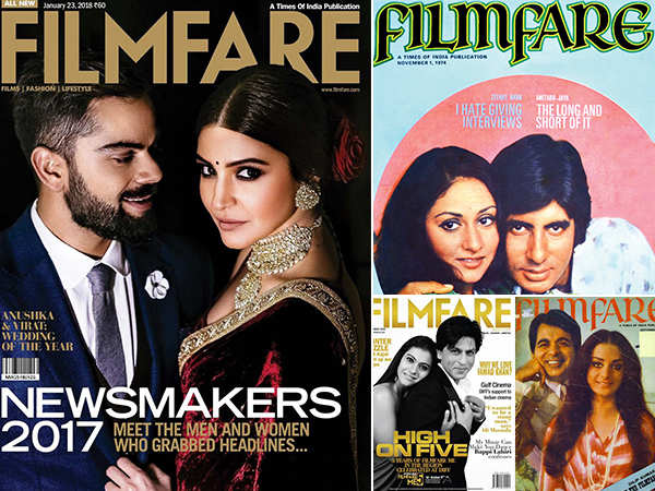 Valentine's day special: Most romantic Filmfare covers