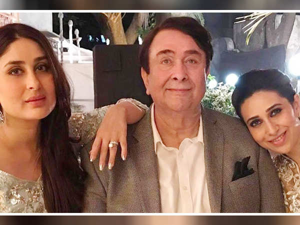 Karisma Kapoor and Kareena Kapoor Khan to host a special birthday bash for dad Randhir Kapoor