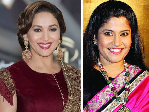 "Exclusive!  ""Madhuri Dixit is very down to earth,"" says Renuka Shahane"