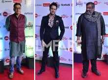Anupam Roy, Yash Das Gupta and Kaushik Ganguly attend the Jio Filmfare Awards (East) 2018