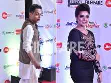 Sujoy Ghosh and Subhasree Ganguly attend the Filmfare Awards (East) 2018