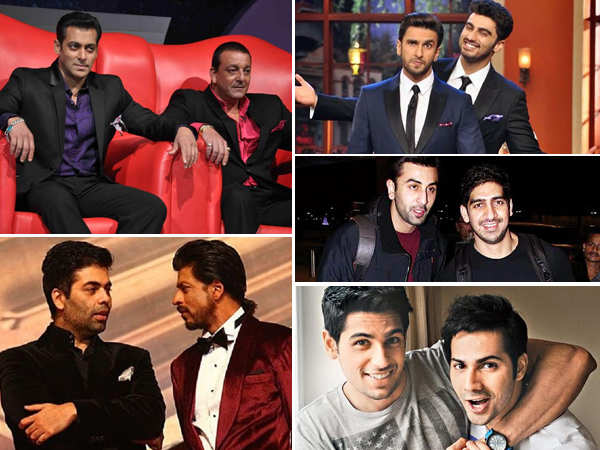 We list down 5 well-known bromances in B-town