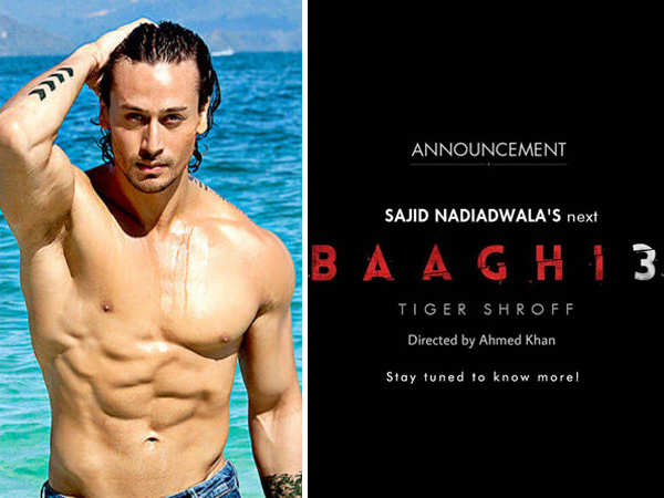 Action packed! Ahmed Khan will direct Baaghi 3 starring Tiger Shroff