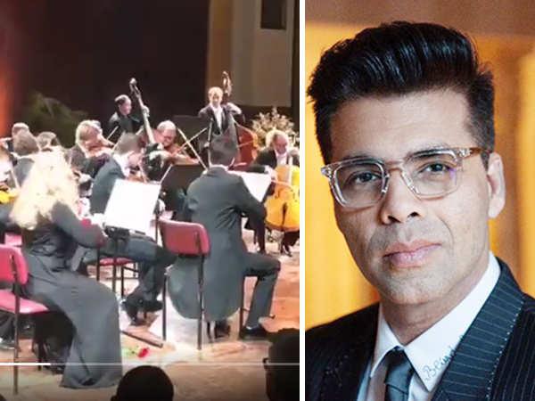 German Orchestra plays Kuch Kuch Hota Hai songs at Berlin Film Festival to honour Karan Johar