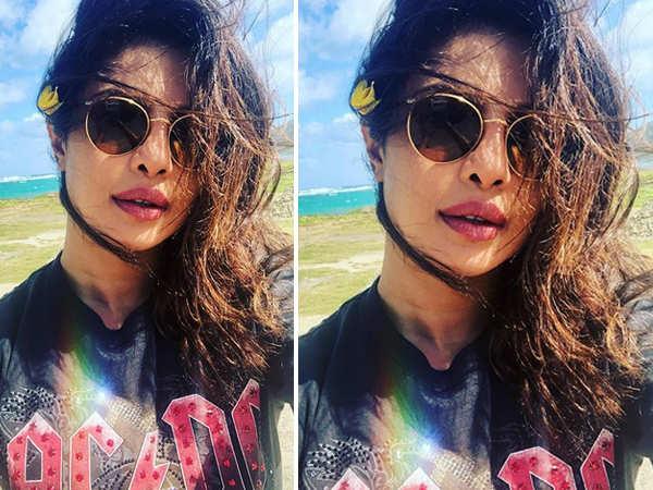 Priyanka Chopra's beach selfie is proof that she is the ultimate diva