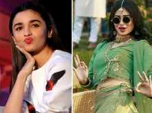 Alia Bhatt and Mouni Roy enjoy each other's company after work hours in Bulgaria