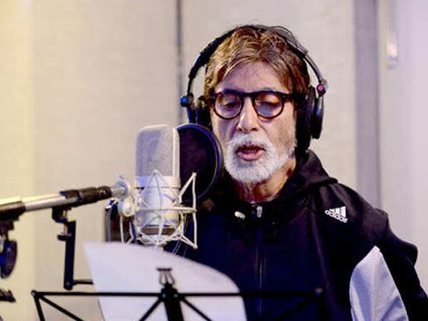 You don't want to miss this video of Amitabh Bachchan rapping his new song