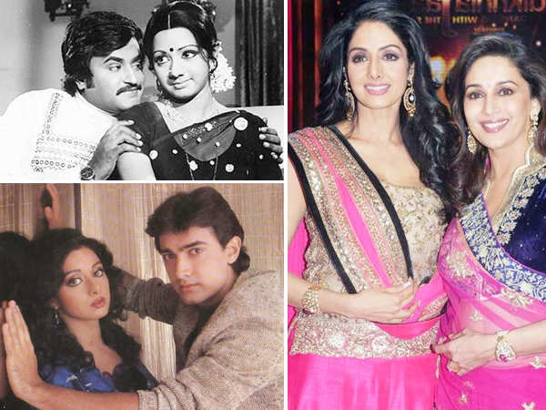 Rajnikanth, Aamir Khan, Lata Mangeshkar, Madhuri Dixit..Bollywood mourns Sridevi's death