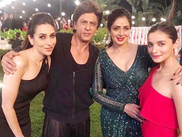 Sridevi will be seen on the big screen for the last time with Shah Rukh Khan in Zero