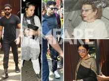 Celebrities arrive at Anil Kapoor's residence to pay their respects to Sridevi