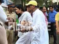 Pictures: Katrina Kaif reaches the crematorium for Sridevi's last rites