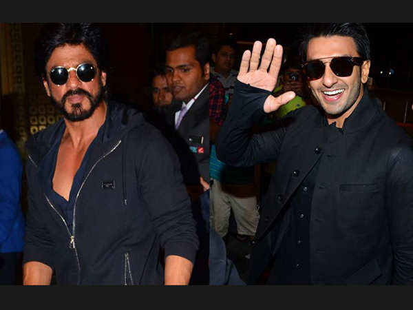 Shah Rukh Khan and Ranveer Singh have a delightful exchange of words on Twitter