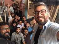Ayushmann Khurrana and Sanya Malhotra wrap up the first schedule of Badhaai Ho