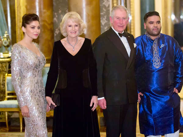 Kanika Kapoor enthrals Prince Charles at Buckingham Palace