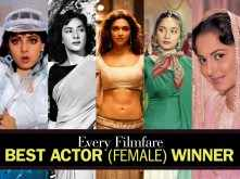 Every Filmfare Best Actor (Female) Winner Ever