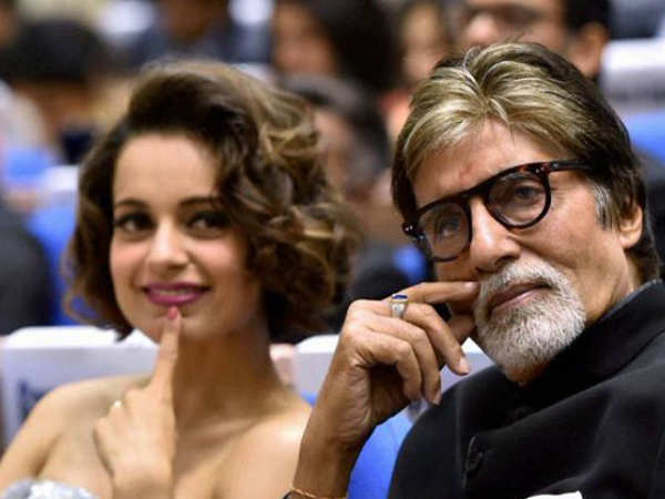 Amitabh Bachchan and Kangana Ranaut to come together for R Balki's next