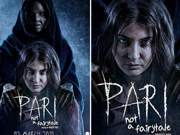 Anushka Sharma reveals her frightening look in 'Pari'