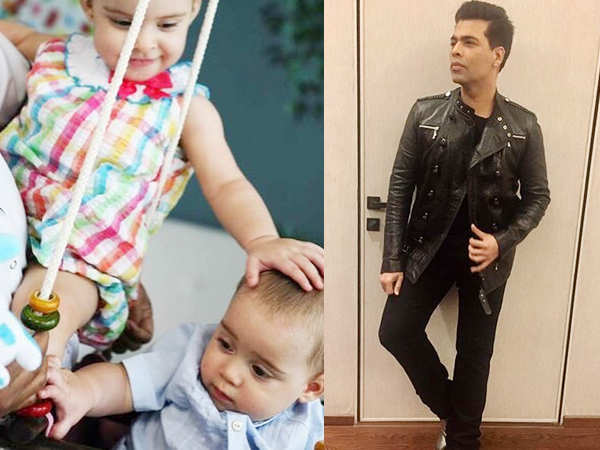 Karan Johar posts an adorable picture of Roohi and Yash Johar