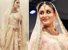 Check out these photos of Kareena Kapoor Khan looking like a goddess in gold for Vikram Phadnis!