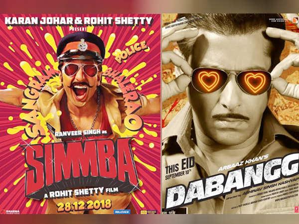 Ranveer's Singh's Simmba is nothing like Salman Khan's Dabangg