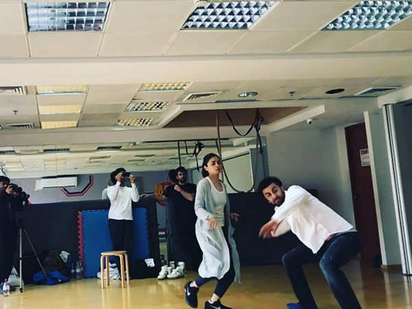 Take a look at Ranbir Kapoor and Alia Bhatt training with ace movement coach Ido Portal