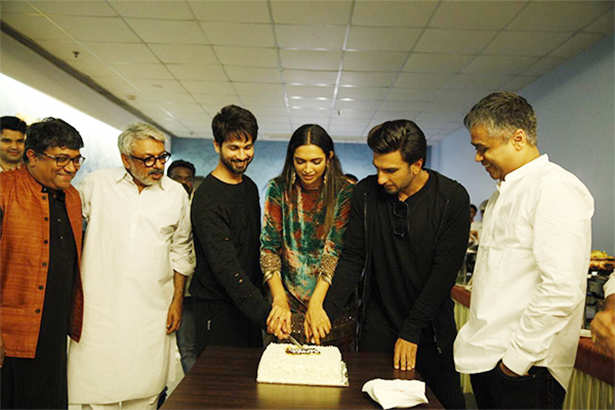 Deepika Padukone, Shahid Kapoor, Ranveer Singh